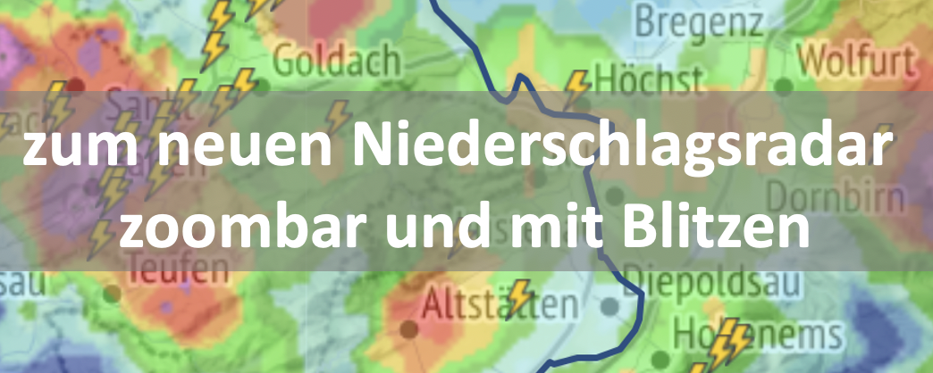 Neues Zoom-Radar